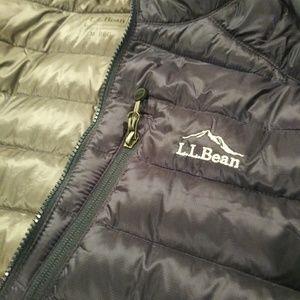 L.L. Bean Jackets & Coats - LL Bean Mens Bomber Hoodie Jacket Size Medium